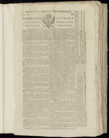 Middelburgsche Courant 1801-04-25