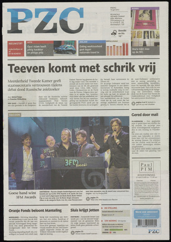 Provinciale Zeeuwse Courant 2013-04-19