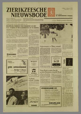 Zierikzeesche Nieuwsbode 1972-02-04