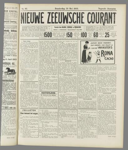 Nieuwe Zeeuwsche Courant 1913-05-29