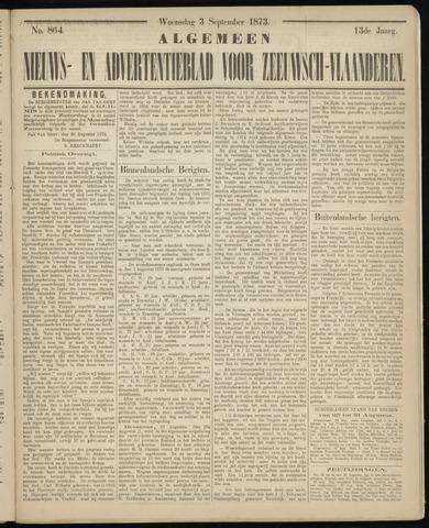 Ter Neuzensche Courant. Algemeen Nieuws- en Advertentieblad voor Zeeuwsch-Vlaanderen / Neuzensche Courant ... (idem) / (Algemeen) nieuws en advertentieblad voor Zeeuwsch-Vlaanderen 1873-09-03