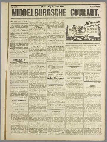 Middelburgsche Courant 1927-07-09