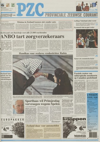 Provinciale Zeeuwse Courant 1999-11-03