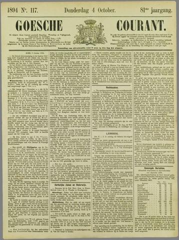 Goessche Courant 1894-10-04