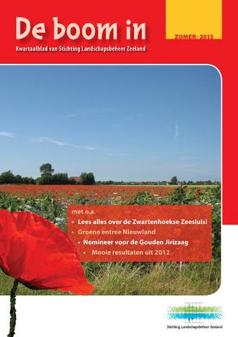 Landschapsbeheer Zeeland - de Boom in 2013-06-21