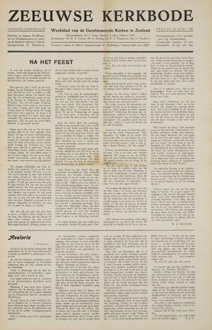 Zeeuwsche kerkbode, weekblad gewijd aan de belangen der gereformeerde kerken/ Zeeuwsch kerkblad 1957-06-14