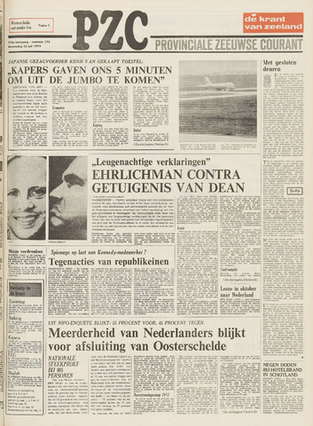 Provinciale Zeeuwse Courant 1973-07-25