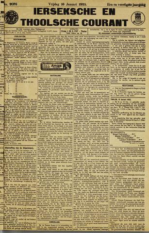 Ierseksche en Thoolsche Courant 1925-01-16