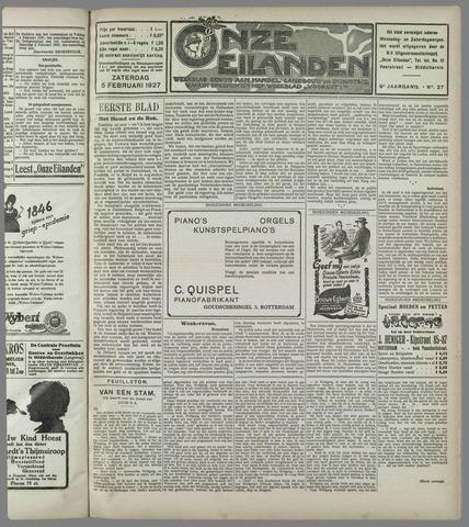 Onze Eilanden 1927-02-05