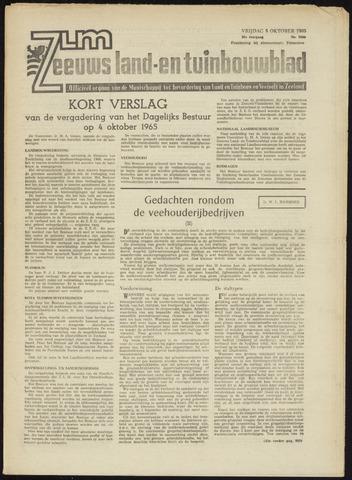 Zeeuwsch landbouwblad ... ZLM land- en tuinbouwblad 1965-10-08
