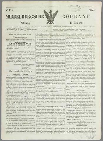 Middelburgsche Courant 1859-10-15