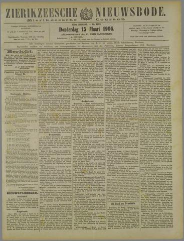 Zierikzeesche Nieuwsbode 1906-03-15
