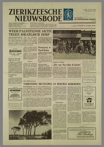 Zierikzeesche Nieuwsbode 1974-06-14