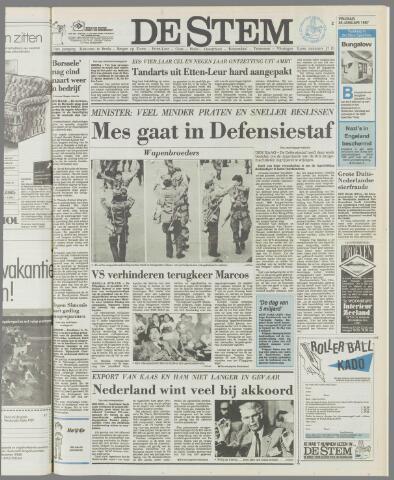 de Stem 1987-01-30