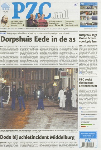 Provinciale Zeeuwse Courant 2010-12-23