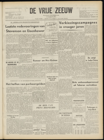 de Vrije Zeeuw 1952-11-03