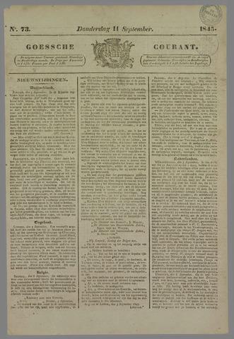 Goessche Courant 1845-09-11