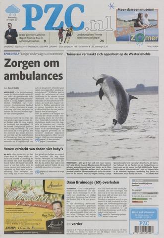 Provinciale Zeeuwse Courant 2010-08-07
