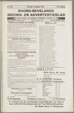 Noord-Bevelands Nieuws- en advertentieblad 1940-08-17