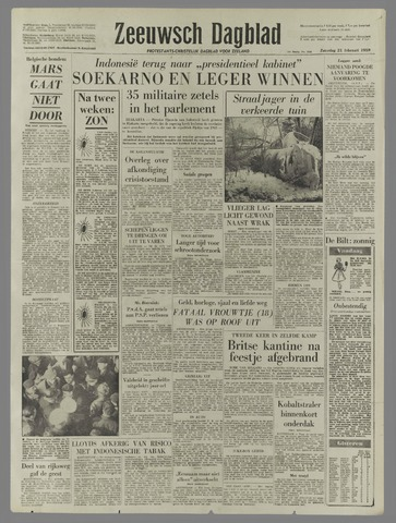 Zeeuwsch Dagblad 1959-02-21
