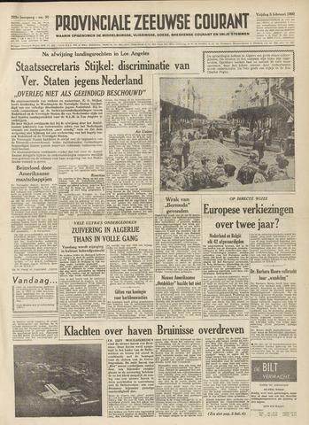 Provinciale Zeeuwse Courant 1960-02-05
