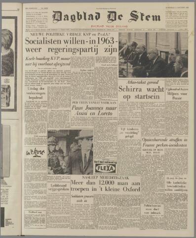 de Stem 1962-10-03