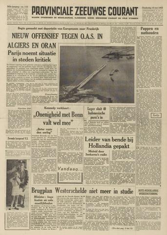 Provinciale Zeeuwse Courant 1962-05-10
