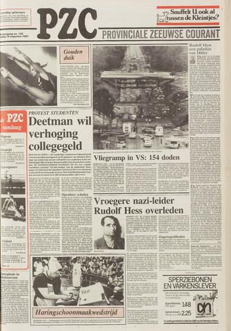 Provinciale Zeeuwse Courant 1987-08-18