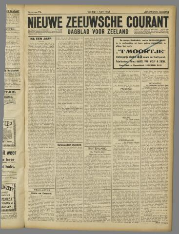 Nieuwe Zeeuwsche Courant 1921-04-01
