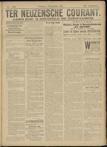 Ter Neuzensche Courant. Algemeen Nieuws- en Advertentieblad voor Zeeuwsch-Vlaanderen / Neuzensche Courant ... (idem) / (Algemeen) nieuws en advertentieblad voor Zeeuwsch-Vlaanderen 1921-12-09