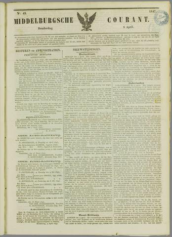 Middelburgsche Courant 1847-04-08