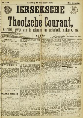 Ierseksche en Thoolsche Courant 1893-09-23