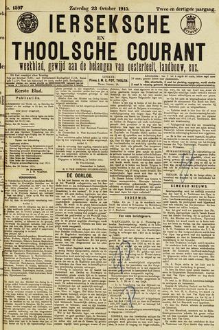 Ierseksche en Thoolsche Courant 1915-10-23