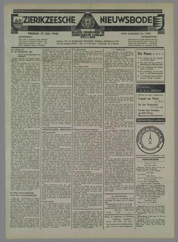 Zierikzeesche Nieuwsbode 1940-07-12