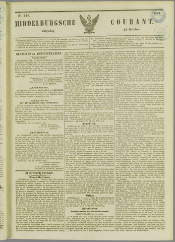 Middelburgsche Courant 1847-10-26