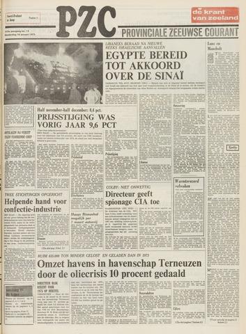 Provinciale Zeeuwse Courant 1975-01-16