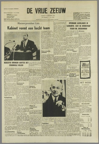 de Vrije Zeeuw 1966-10-14