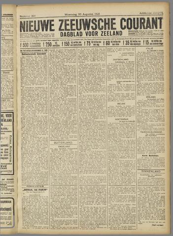 Nieuwe Zeeuwsche Courant 1922-08-30
