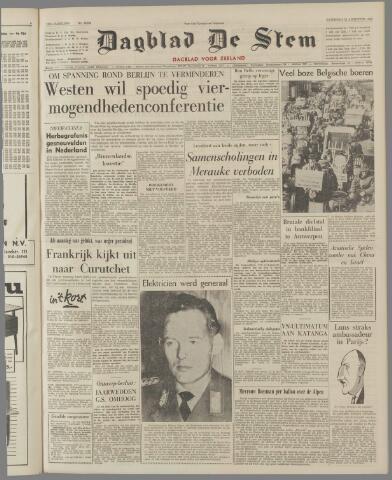 de Stem 1962-08-25
