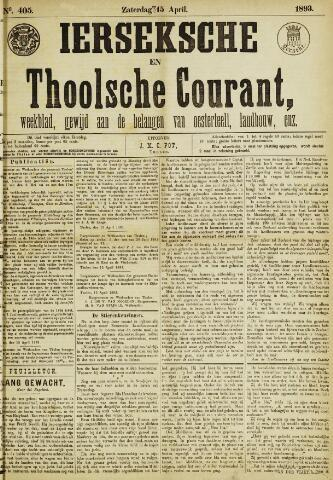 Ierseksche en Thoolsche Courant 1893-04-15
