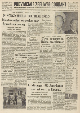 Provinciale Zeeuwse Courant 1960-06-20