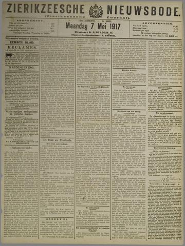 Zierikzeesche Nieuwsbode 1917-05-07