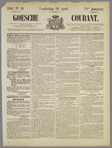 Goessche Courant 1883-04-26