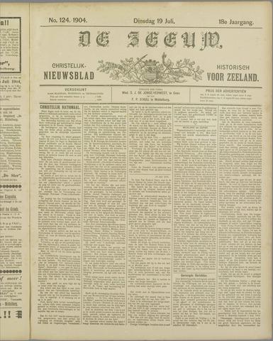 De Zeeuw. Christelijk-historisch nieuwsblad voor Zeeland 1904-07-19