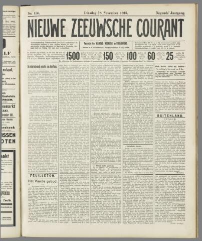 Nieuwe Zeeuwsche Courant 1913-11-18