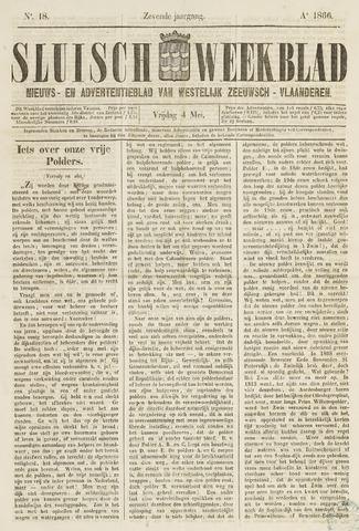 Sluisch Weekblad. Nieuws- en advertentieblad voor Westelijk Zeeuwsch-Vlaanderen 1866-05-04