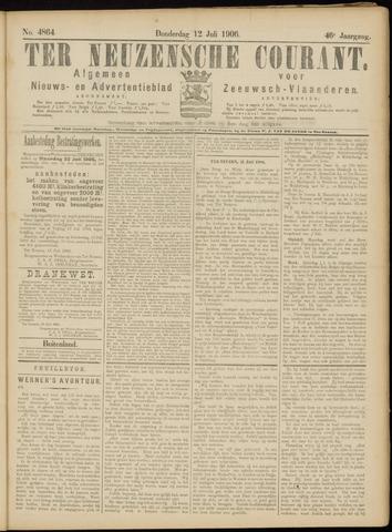 Ter Neuzensche Courant. Algemeen Nieuws- en Advertentieblad voor Zeeuwsch-Vlaanderen / Neuzensche Courant ... (idem) / (Algemeen) nieuws en advertentieblad voor Zeeuwsch-Vlaanderen 1906-07-12