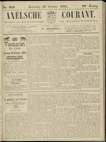Axelsche Courant 1894-10-27