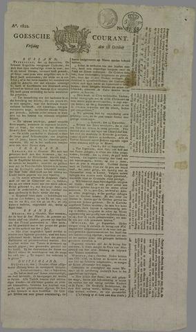 Goessche Courant 1822-10-18
