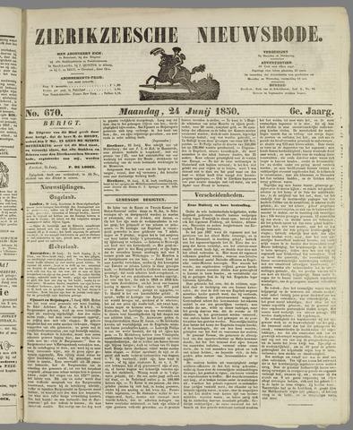 Zierikzeesche Nieuwsbode 1850-06-24